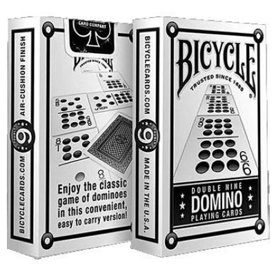 Bicycle Double nine Domino card game
