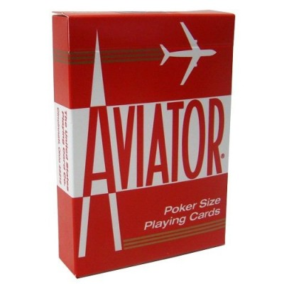 Baraja Aviator Rojo