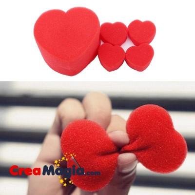 Esponjas corazon