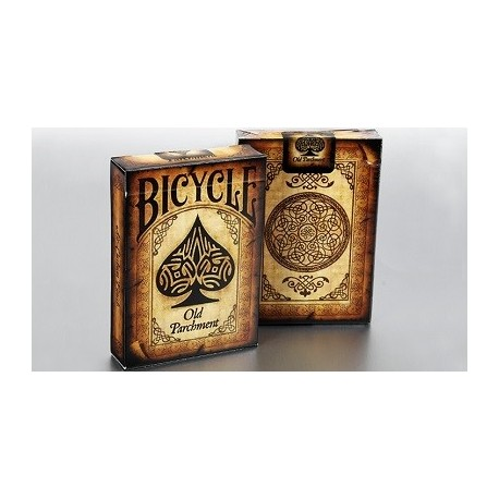 Baraja Bicycle Antiguo Pergamino - Collectable Playing Cards (De colección)