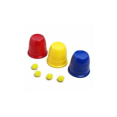 Tazas y Bolas para niños, Magia Infantil