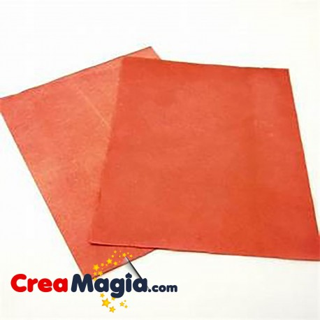 Papel flash rojo