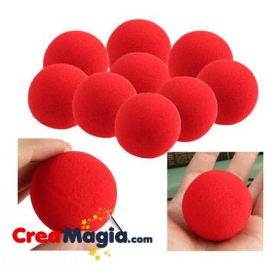 Bolas de esponja