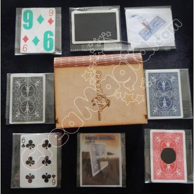 Set Cartas Trucadas + Estuche