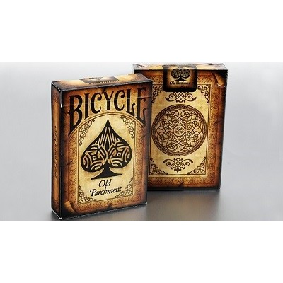 Baraja Bicycle Antiguo Pergamino - Collectable Playing Cards (De colección)